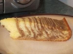 Marty's Zebra Cake