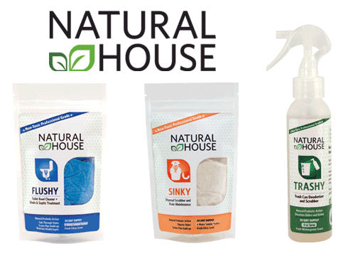 Natural House Cleaners Giveaway