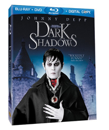 Dark Shadows Blu-ray DVD Combo Pack
