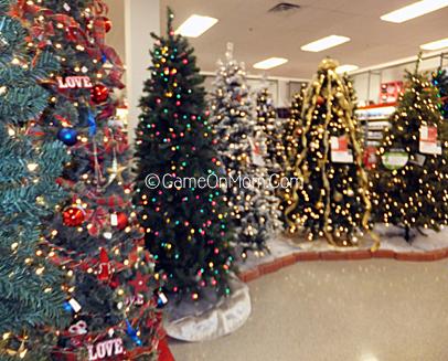 Christmas Trees at Sears