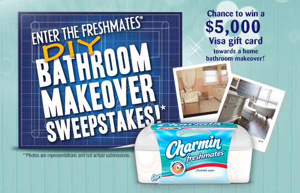 Bathroom Makeover Sweepstakes charmin freshmates review & sweepstakes! - game on mom