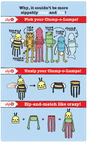 Clump-O-Lump How-To