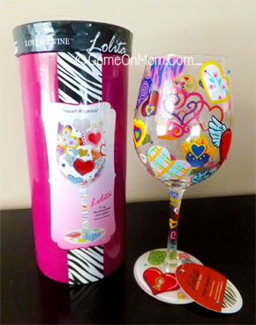 Designs by Lolita Heart-rageous Wine Glass