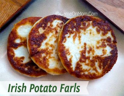 Irish Potato Farls Recipe - Game On Mom