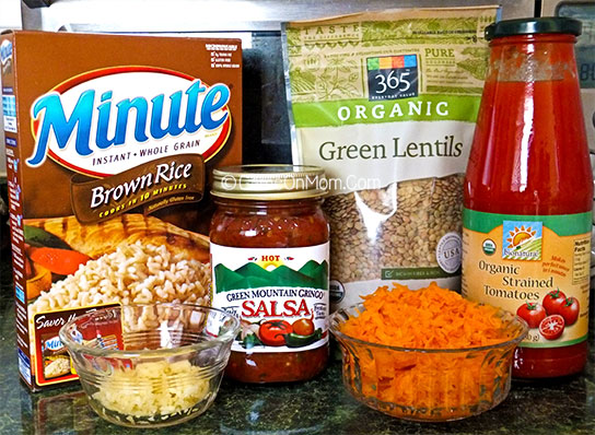 Spicy Lentil Soup Ingredients