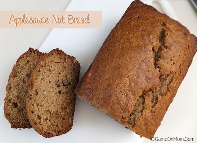 Dessert Recipe: Applesauce Nut Bread | Love2EncourageYou