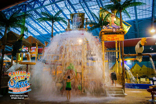 Fun At Sahara Sam S Oasis Indoor Amp Outdoor Water Park