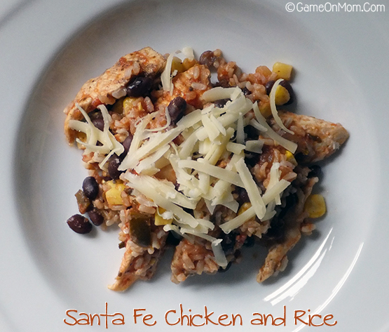 Santa Fe Chicken and Rice