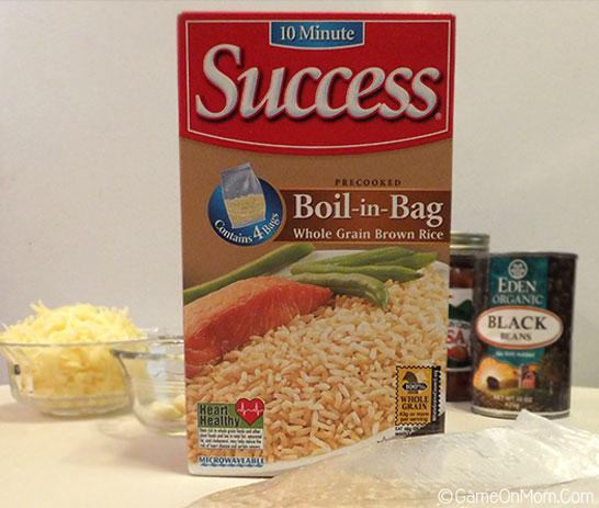 Santa Fe Chicken & Rice Ingredients