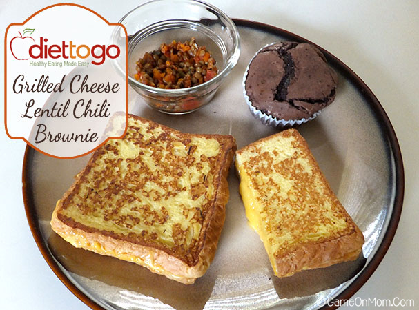 Grilled Cheese Lentil Chili Brownie