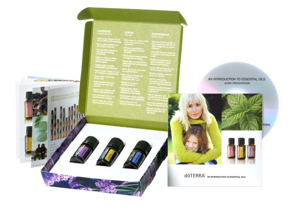 Essential oil class giveaway game