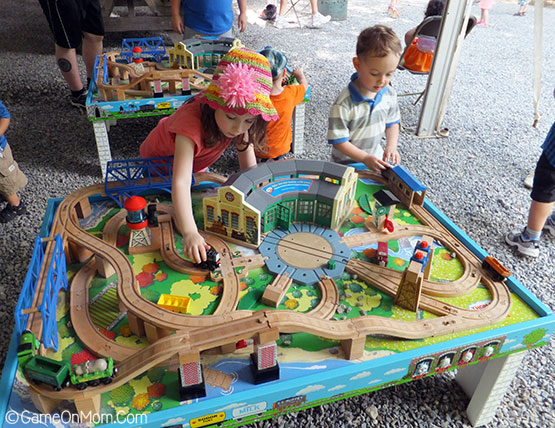 Thomas Train Tables & Our Day Out with Thomas in Phillipsburg NJ - Game On Mom