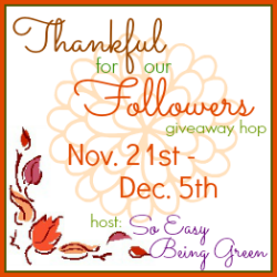 Thankful for Our Followers Giveaway Hop