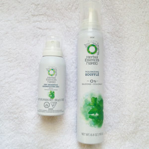 Herbal Essences Naked Volume Soufflé & Dry Shampoo