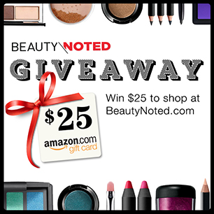 Beauty Noted Giveaway