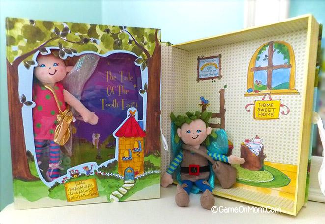 Crayola presents tales of the tooth fairies new movies for Hallmark fairy door