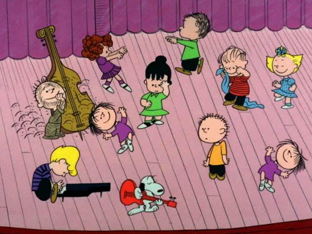 Charlie brown christmas characters sally