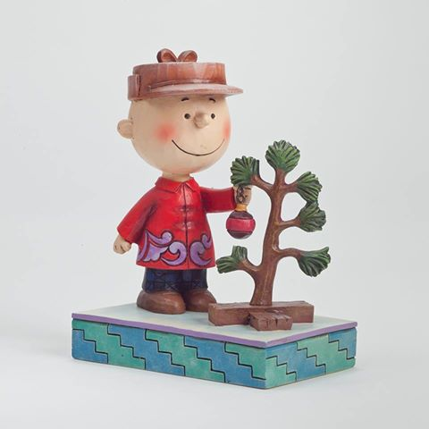 Find the Christmas Spirit Charlie Brown Figurine