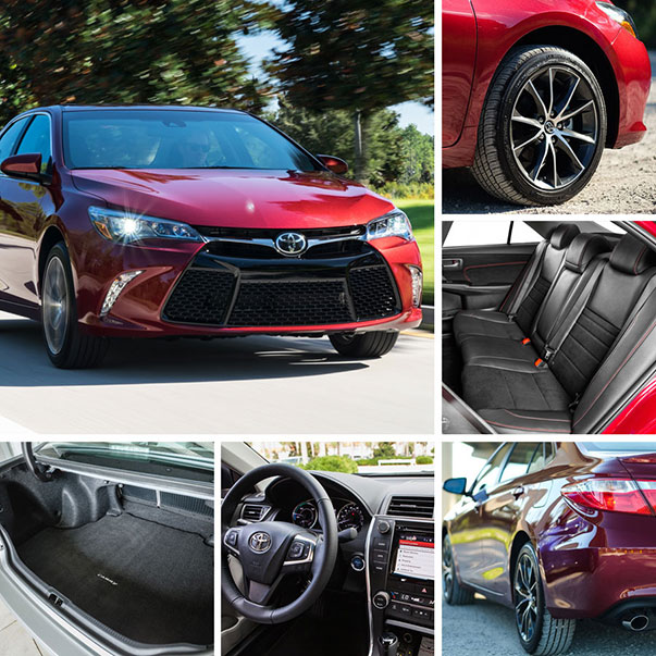 A Look At The Redesigned 2015 Toyota Camry, Sienna