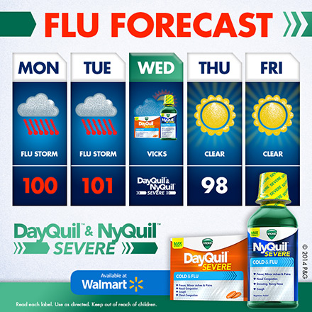 It S Cold Flu Season But Reliefishere With Vicks Dayquil