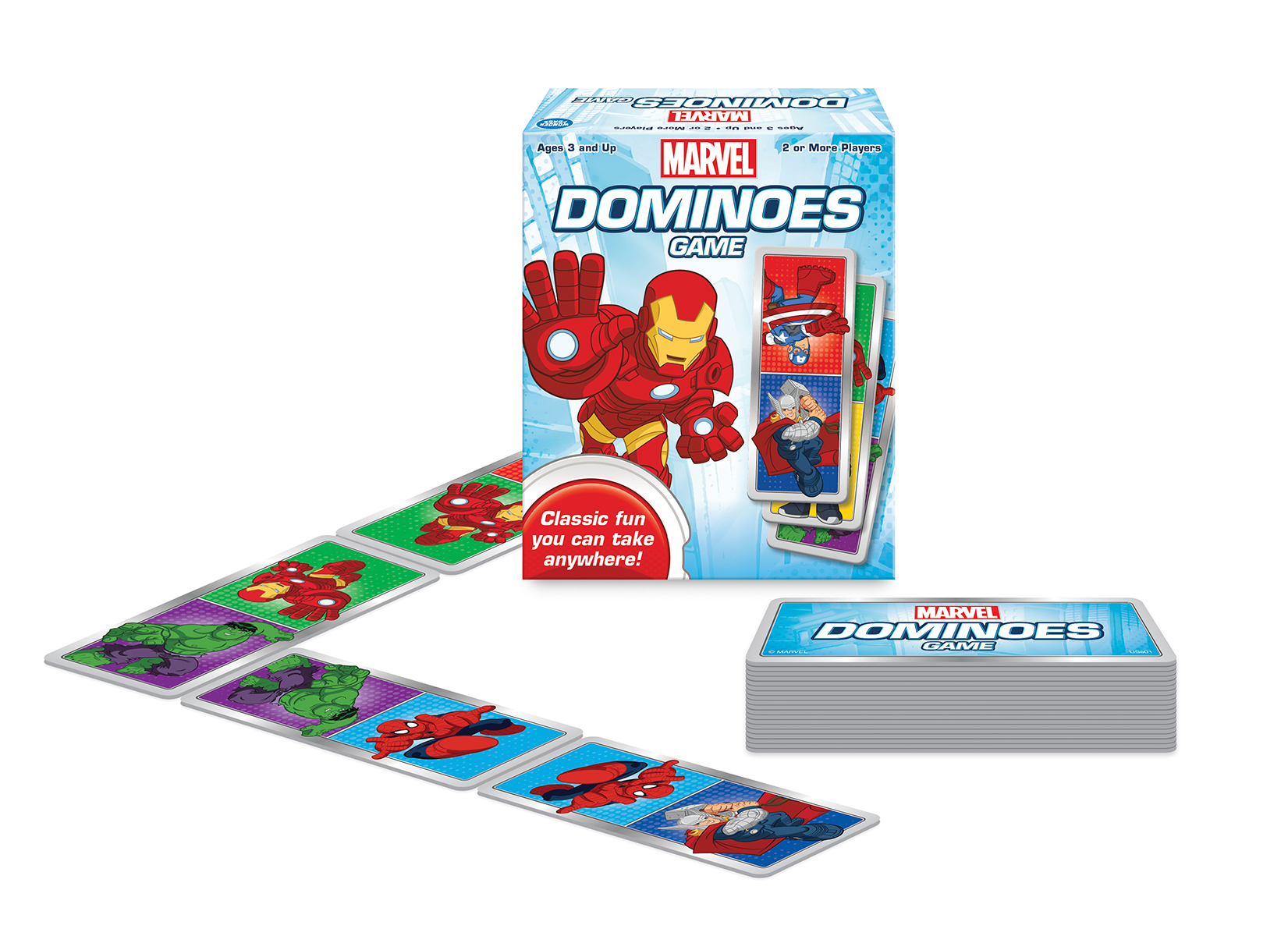 Marvel Dominoes