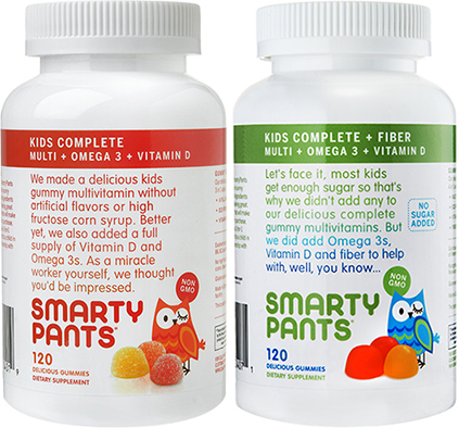 """About Smarty Pants Vitamins. Smarty Pants Vitamins is a vitamin brand that allows you to be """"good to your health"""" as the website explains. The brand has vitamin options for both children and adults, so that your entire family gets the nutritional boost that it needs for a better day."""