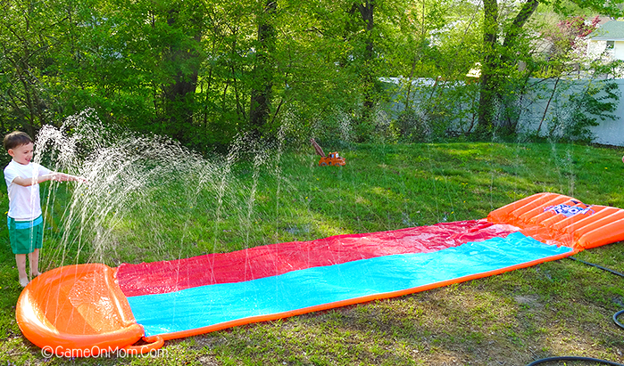 Slide Into Summer On An H20 Go Water Slide Game On Mom