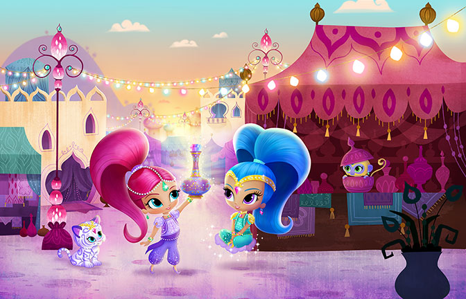 Nick Jr S New Series Quot Shimmer And Shine Quot Debuts Aug 24th