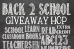 Back to School Giveaway Hop 2015