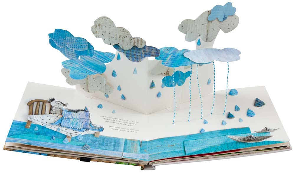 The Color Monsters Pop-Up Book