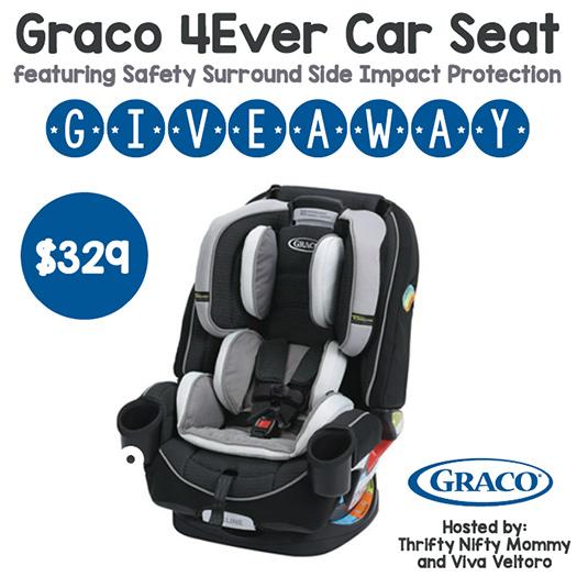 Win A Graco 4Ever Car Seat