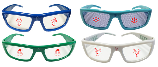 turn ordinary light into magical images with holidayspecs 3d glasses giveaway