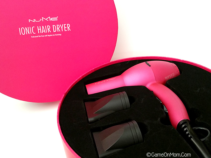 NuMe Ionic Hair Dryer Box