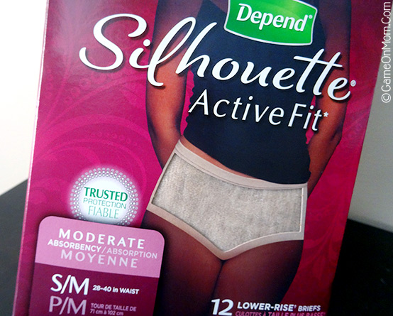 Depend Silhouette Active Briefs