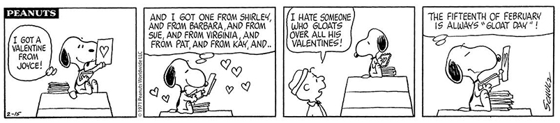 Did You Know That There Are Also Two Peanuts Valentineu0027s Day TV Specials?  The First Is Be My Valentine, Charlie Brown, In Which The Whole Gang  Experiences ...