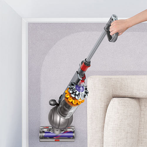 the new dyson small ball is big on efficiency game on mom. Black Bedroom Furniture Sets. Home Design Ideas