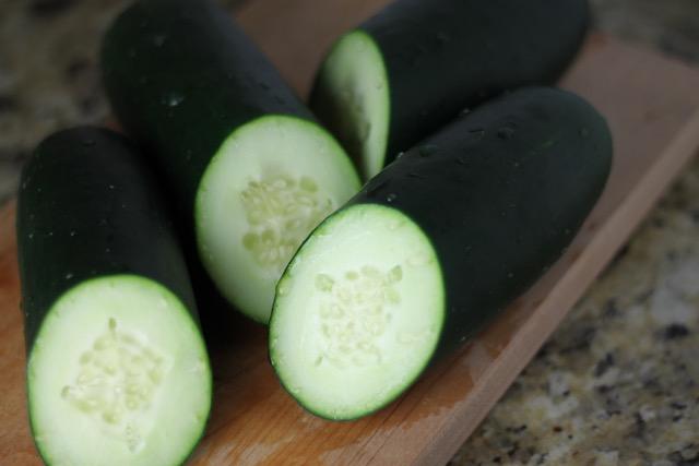 DIY Cucumber Eye Pads