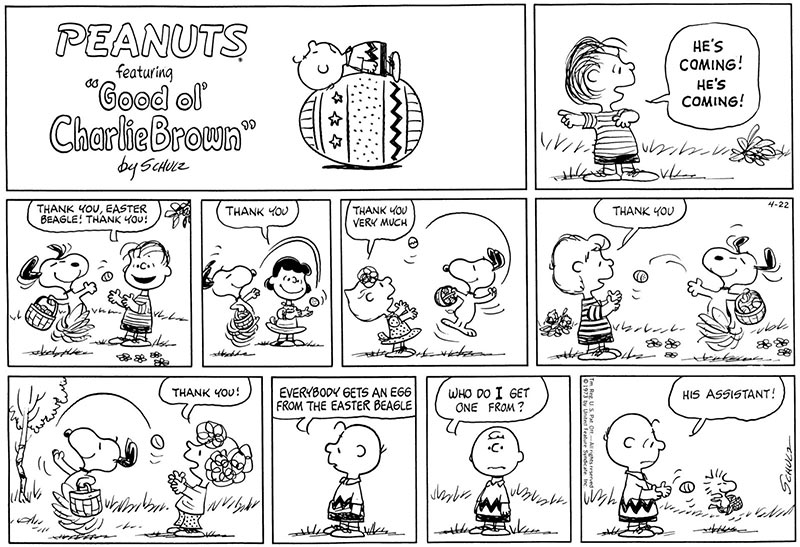 The First Peanuts Cartoon Strip - ThoughtCo