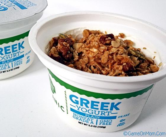 Wellesly Farms Greek Yogurt and Granola