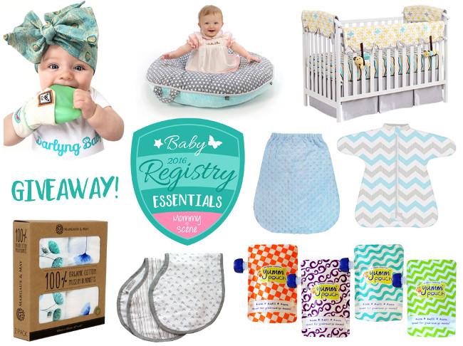 Baby Registry Wish List Giveaway