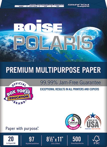 Boise Polaris Premium Multipurpose Paper
