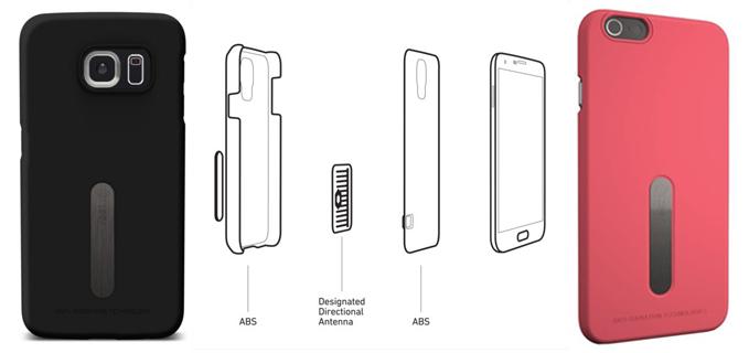 Vest Anti Radiation Phone Cases