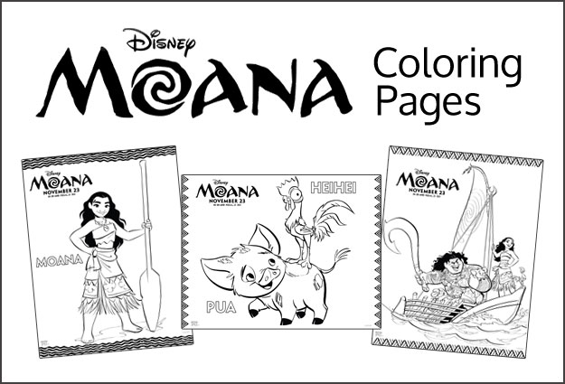 Our Thoughts On Disney S Moana Amp Moana Coloring Pages