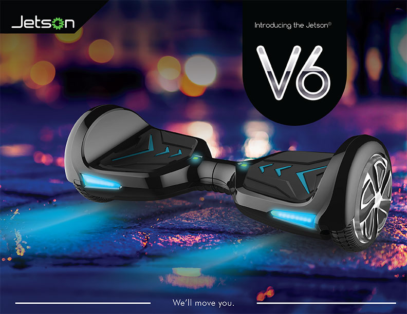 Jetson Hoverboard