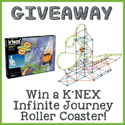 K'NEX Infinite Journey Roller Coaster Giveaway