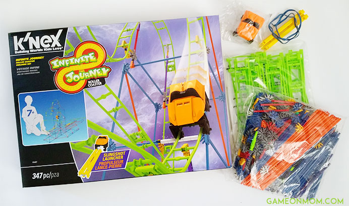 K'NEX Infinite Journey Roller Coaster Set