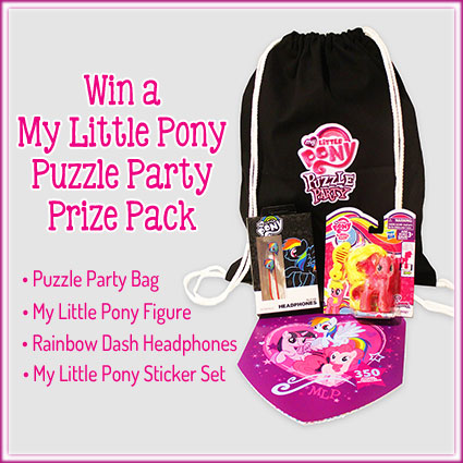 My Little Pony: Puzzle Party Prize Pack Giveaway
