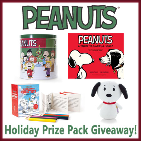 Peanuts Holiday Prize Pack Giveaway