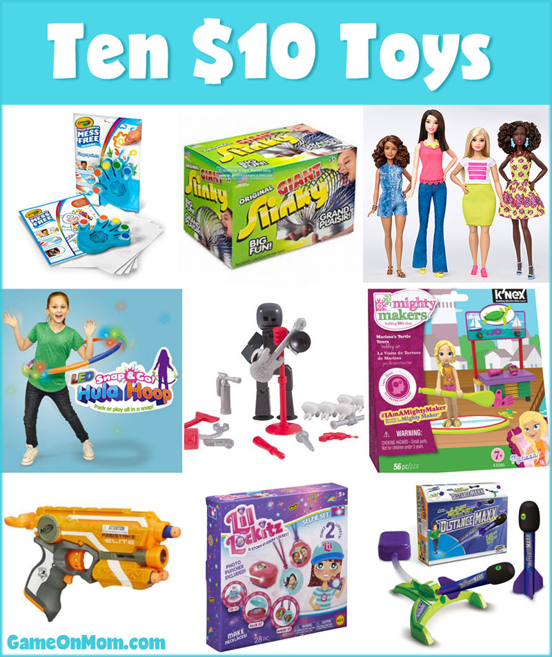 ten 10 or less toys game on mom