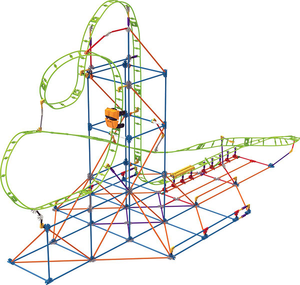K'NEX Infinite Journey Roller Coaster